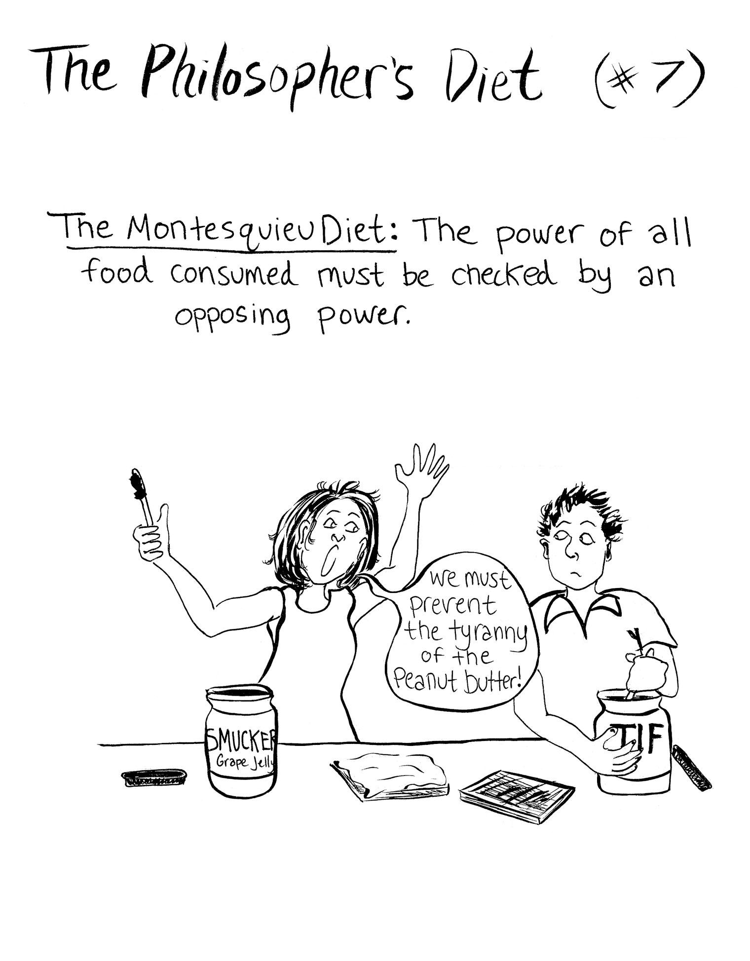 Montesquieu diet