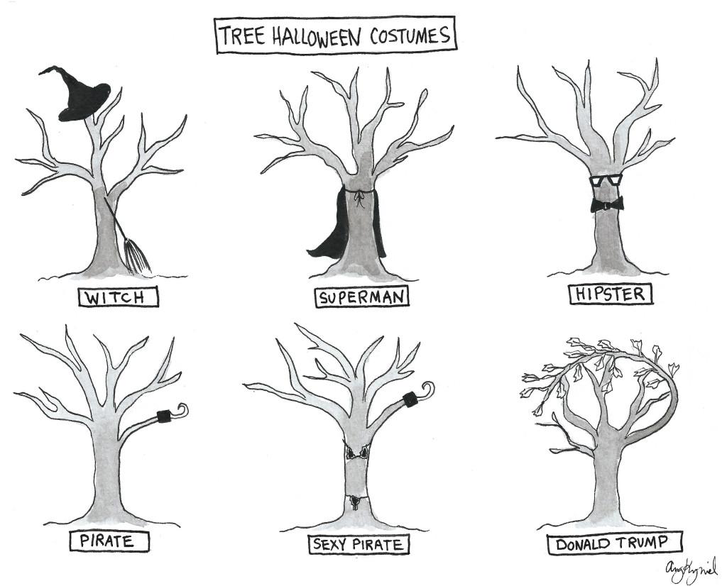 *treehalloween used