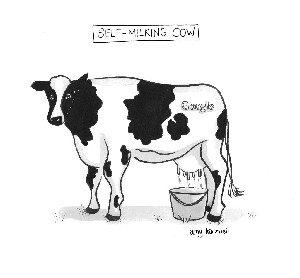 Self Milking Cow