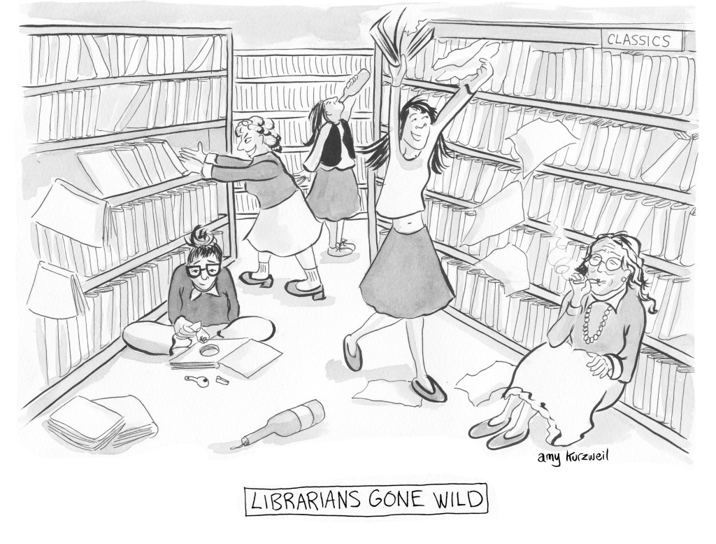 Librarians Gone Wile
